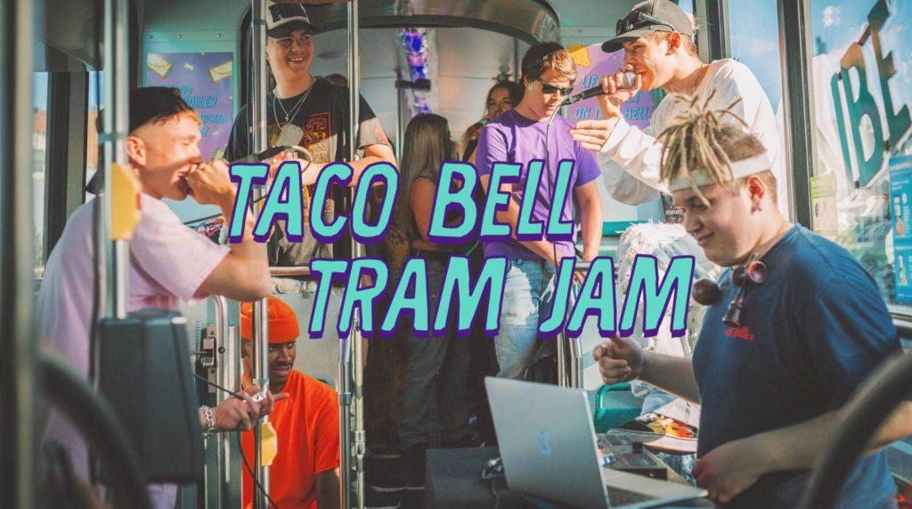 taco bell tram jam
